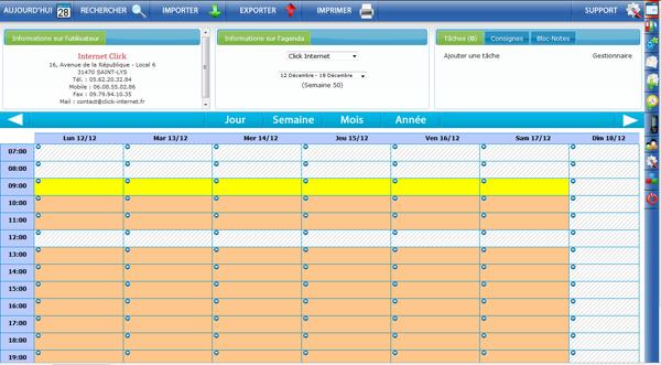 logiciel d u0026 39 agenda partag u00e9 en ligne